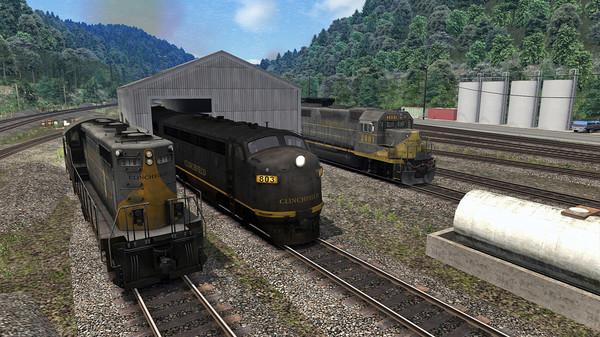 скриншот Train Simulator: Clinchfield Railroad: Elkhorn City - St. Paul Route Add-On 5