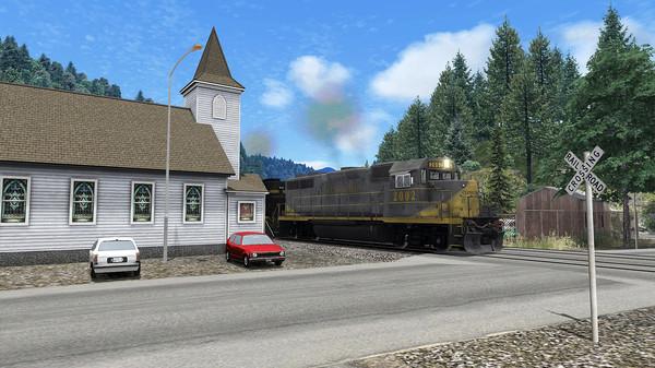 скриншот Train Simulator: Clinchfield Railroad: Elkhorn City - St. Paul Route Add-On 1