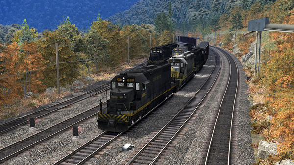 скриншот Train Simulator: Clinchfield Railroad: Elkhorn City - St. Paul Route Add-On 2