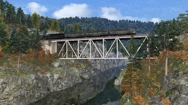 скриншот Train Simulator: Clinchfield Railroad: Elkhorn City - St. Paul Route Add-On 4