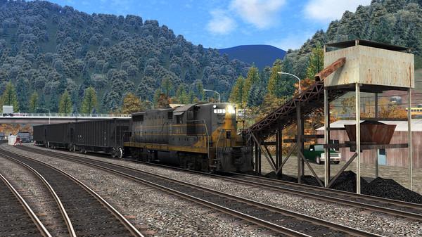 скриншот Train Simulator: Clinchfield Railroad: Elkhorn City - St. Paul Route Add-On 3
