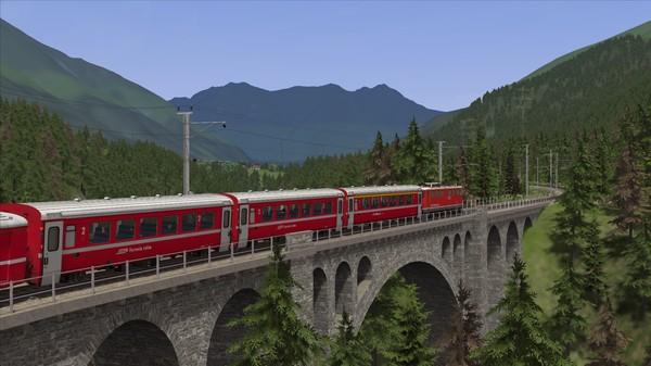 скриншот Train Simulator: Engadin Linie: Pontresina - Scuol-Tarasp Route Add-On 1