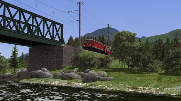 скриншот Train Simulator: Engadin Linie: Pontresina - Scuol-Tarasp Route Add-On 0