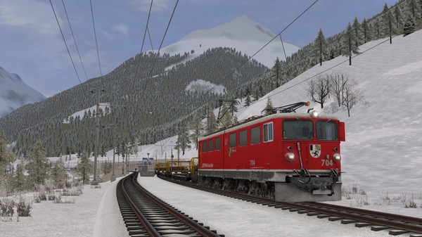 скриншот Train Simulator: Engadin Linie: Pontresina - Scuol-Tarasp Route Add-On 3