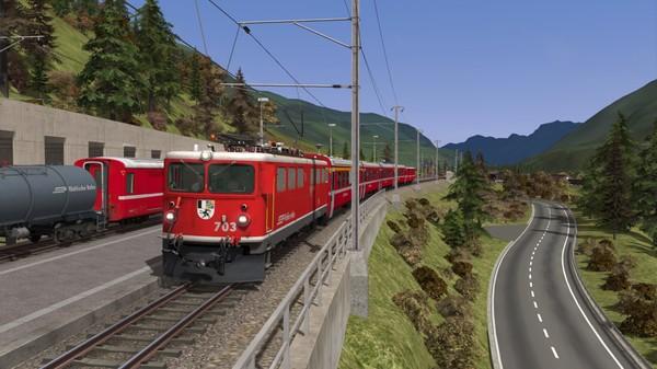 скриншот Train Simulator: Engadin Linie: Pontresina - Scuol-Tarasp Route Add-On 5
