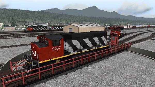 скриншот Train Simulator: Yellowhead Pass: Jasper - Valemount Route Add-On 4