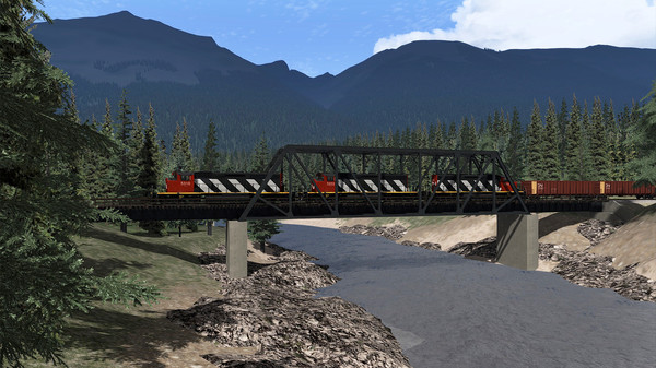 скриншот Train Simulator: Yellowhead Pass: Jasper - Valemount Route Add-On 1