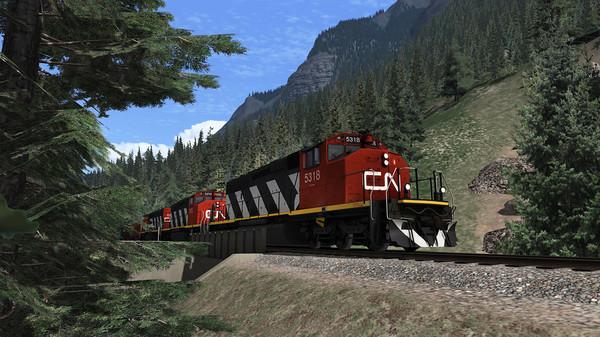 скриншот Train Simulator: Yellowhead Pass: Jasper - Valemount Route Add-On 0