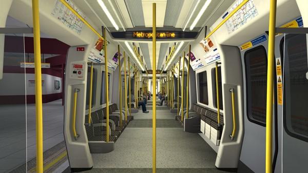 скриншот Train Simulator: London Underground S7+1 EMU Add-On 5
