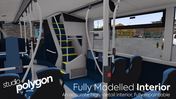 скриншот OMSI 2 Add-On Studio Polygon 400 MMC Pack 3