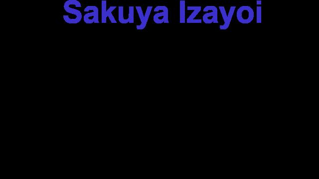 Sakuya Izayoi Gives You Advice And Dabs logo