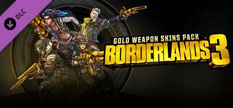 Borderlands 3: Gold Weapons Skins Pack