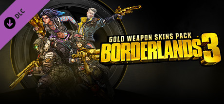Borderlands 3: Gold Weapon Skins Pack