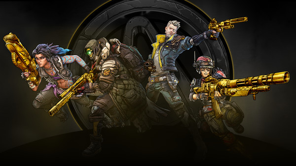 Скриншот №1 к Borderlands 3: Gold Weapon Skins Pack