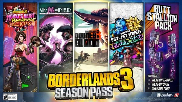 Скриншот №1 к Borderlands 3: Season Pass