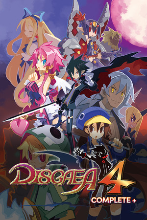 Disgaea 4 Complete+ poster image on Steam Backlog
