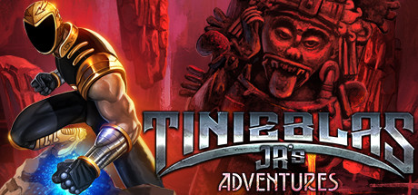 Tinieblas Jr's Adventures cover art