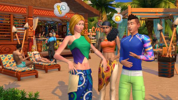 The Sims 4 Island Living Free Steam Key 3