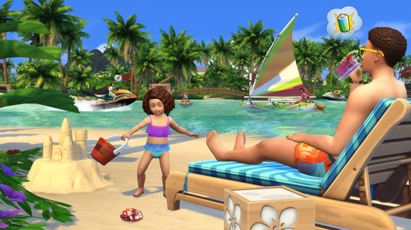 The Sims 4 Island Living Free Steam Key 4