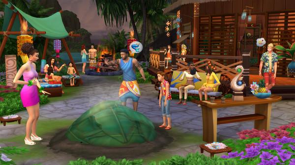 The Sims 4 Island Living Free Steam Key 2