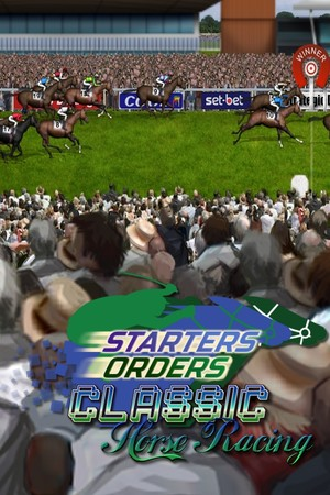 Starters Orders Classic Horse Racing poster image on Steam Backlog