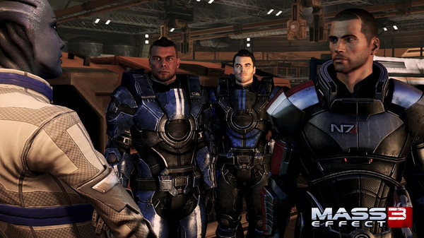 скриншот Mass Effect 3 DLC Bundle 4