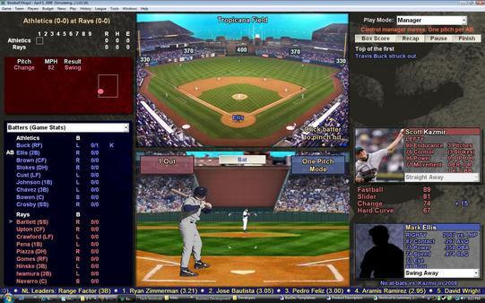 Скриншот из Baseball Mogul 2009
