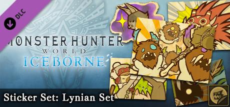 Monster Hunter: World - Sticker Set: Lynian Set
