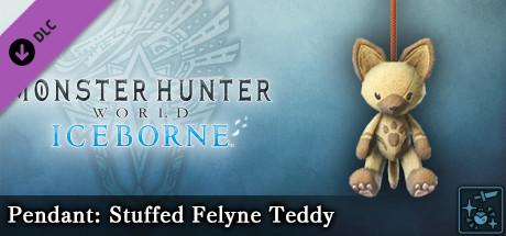 Monster Hunter World: Iceborne - Pendant: Stuffed Felyne Teddy