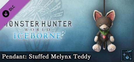 Monster Hunter World: Iceborne - Pendant: Stuffed Melynx Teddy