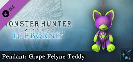 Monster Hunter World: Iceborne - Pendant: Grape Felyne Teddy
