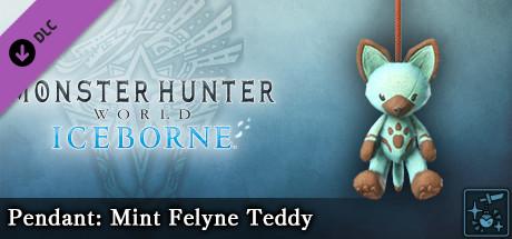 Monster Hunter World: Iceborne - Pendant: Mint Felyne Teddy