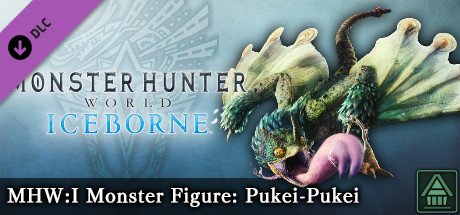 Monster Hunter World: Iceborne - MHW:I Monster Figure: Pukei-Pukei