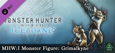 Monster Hunter World: Iceborne - MHW:I Monster Figure: Grimalkyne