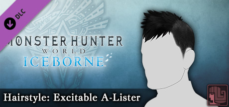 Monster Hunter World: Iceborne - Hairstyle: Excitable A-Lister