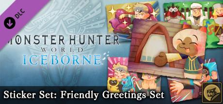Monster Hunter: World - Sticker Set: Friendly Greetings Set