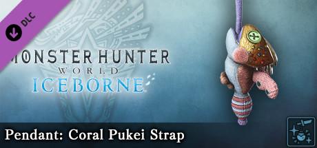 Monster Hunter World: Iceborne - Pendant: Coral Pukei Strap