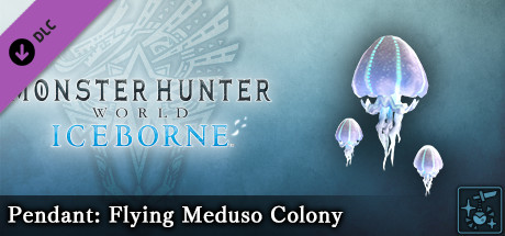 Monster Hunter World: Iceborne - Pendant: Flying Meduso Colony