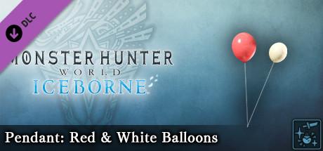 Monster Hunter World: Iceborne - Pendant: Red & White Balloons