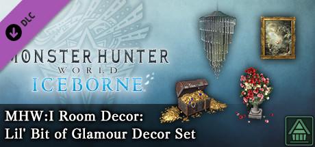 Monster Hunter World: Iceborne - MHW:I Room Decor: Lil' Bit of Glamour Decor Set