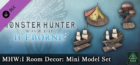 Monster Hunter World: Iceborne - MHW:I Room Decor: Mini Model Set