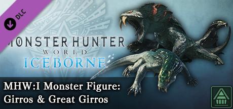 Monster Hunter World: Iceborne - MHW:I Monster Figure: Girros & Great Girros
