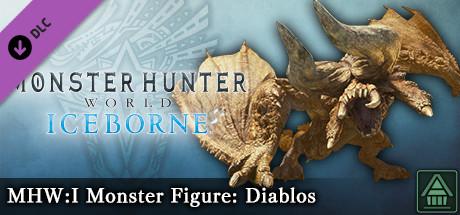 Monster Hunter World: Iceborne - MHW:I Monster Figure: Diablos