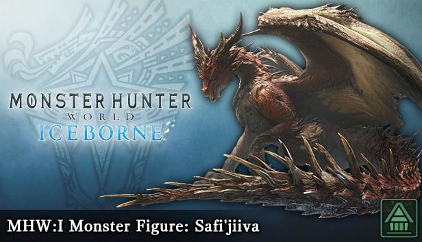 Monster Hunter World Iceborne Mhw I Monster Figure Safi Jiiva