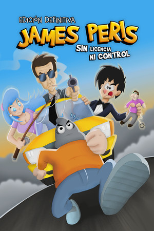 James Peris: Sin licencia ni control - Edición definitiva poster image on Steam Backlog