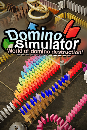 Domino Simulator 2020 poster image on Steam Backlog