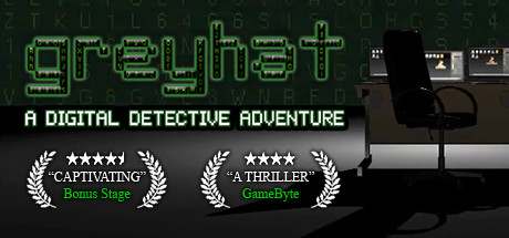 View Greyhat - A Digital Detective Adventure on IsThereAnyDeal
