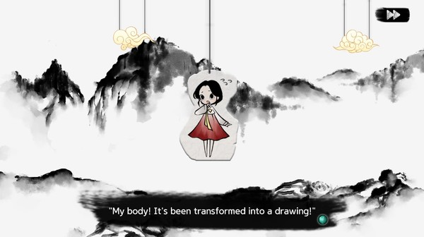 Screenshot of Lynn , The Girl Drawn On Puzzles