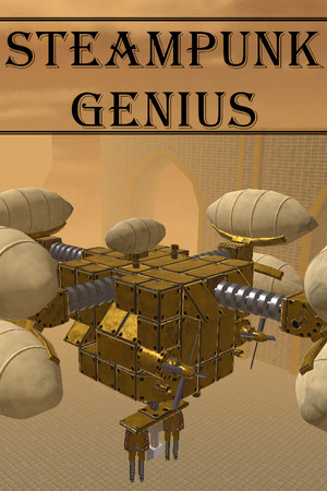 Steampunk Genius poster image on Steam Backlog