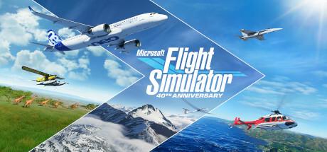 Microsoft Flight Simulator cover art